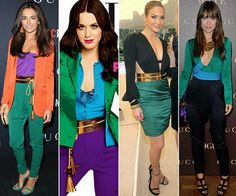 .: POSHPOINT STREET STYLE-COLOUR BLOCKING