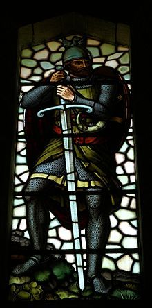Sir William Wallace (died 23 August 1305) a Scottish landowner who became one of the main leaders during the Wars of Scottish Independence. Along with Andrew Moray, Wallace defeated an English army at the Battle of Stirling Bridge, 1297 was Guardian of Scotland, serving until his defeat at Battle of Falkirk July 1298. In 1305, Wallace was captured in Robroyston and handed to King Edward I of England, who hanged, drawn, and quartered him for treason and crimes against English civilians.