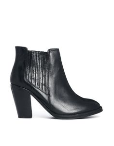 $97, Leather Tally Ankle Boots by Carvela. Sold by Asos. Click for more info: http://lookastic.com/women/shop_items/129230/redirect