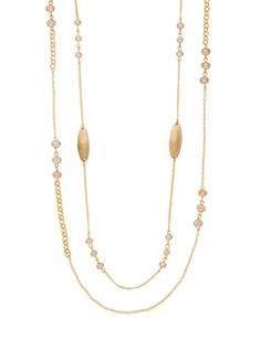 Long Double Strand Necklace from THELIMITED.com