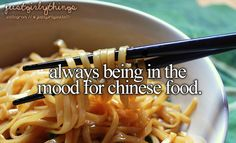 my whole family hates chinese food except for me,so i don't get a lot of chinese :(>> yay chinese for life