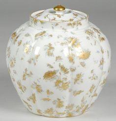 Limoges Biscuit Ginger Jar : Lot 61