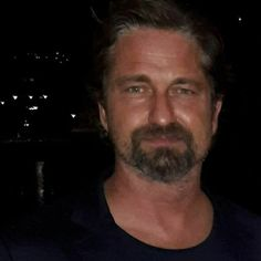 Gerard Butler July 2017 in Ischia