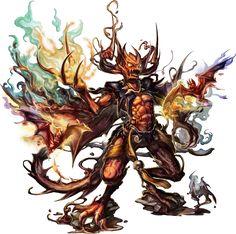 No.553 魔焰吸血鬼 The Fire Vampire #神魔之塔 #神魔_遠古的恐懼