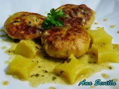 Filetes rusos de pollo en salsa Ana Sevilla olla GM