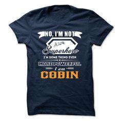 cool COBIN Name Tshirt - TEAM COBIN, LIFETIME MEMBER
