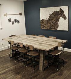 Ellis Solid Oak Farm Table   Home Furniture