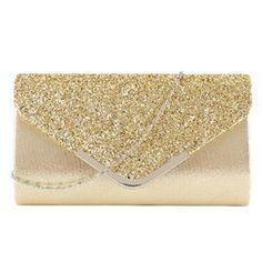 Luxury Bags for Women 2019 Female Women's Clutch Purse Wallet Party Bag Envelope Bridal Wedding Everning Handbags bolsa feminina Glitter Clutch Bag, Clutch Wallet, Clutch Bags, Crossbody Bags, Bridal Handbags, Wallet Chain, Shoulder Purse, Vintage Handbags, Evening Bags