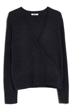 Madewell Faux Wrap Pullover Sweater (Regular & Plus Size) Wrap Sweater, Anniversary Sale, My Wardrobe, Madewell, Pullover Sweaters, Shop Now, Trunks, Plus Size
