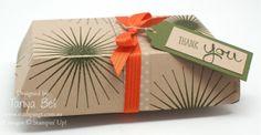 Stampin' Up! Hamburger Box Die - larger gift box video available