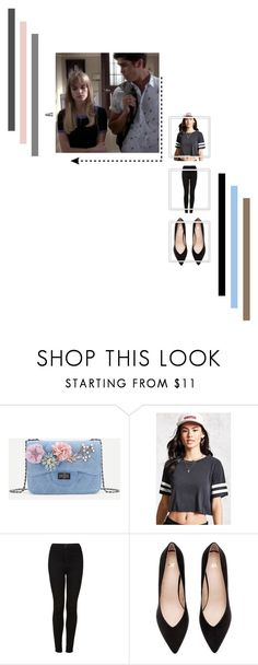 """""""Brooke Maddox {mtv scream}"""" by cheapchicceleb ❤ liked on Polyvore featuring Forever 21 and Topshop"""
