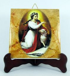 Hey, I found this really awesome Etsy listing at https://www.etsy.com/listing/200054655/religious-gifts-saint-agnes-of-rome