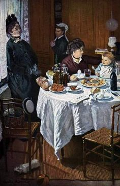 The Luncheon - Claude Monet