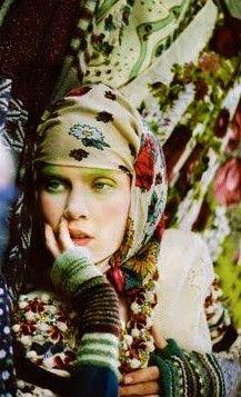 boho/gypsy look Bohemian Gypsy, Gypsy Style, Bohemian Style, Boho Chic, Gypsy Chic, Hippie Style, Ethnic Fashion, Boho Fashion, Fashion Prints
