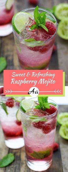 RASPBERRY MOJITO RECIPE - AA BEST RECIPES