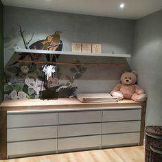 happy customer wallpaper brown birds nursery