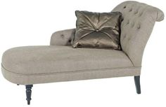 Eichholtz Chaise Longue Camel Linen from Occa Home