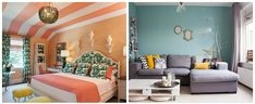 wall colors ropy pastel colors, gray-blue shades in wall colors 2018 trends 2018 Interior Design Trends, Best Interior Design, Blue Grey, Gray, Wall Colors, Pastel Colors, Shades, Bed, Inspiration