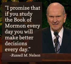 president Nelson book of mormon Prophet Quotes, Jesus Christ Quotes, Gospel Quotes, Lds Quotes, Uplifting Quotes, Religious Quotes, Great Quotes, Inspirational Quotes, Qoutes