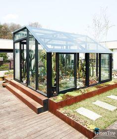 가든 디자이너의 소담한 정원 1- 온실 좋다