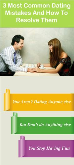 Most common dating mistakes