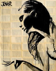 """Saatchi Art Artist: Loui Jover; Pen and Ink 2013 Drawing """"finesse"""""""