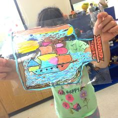 I wanted to work on a fun still life project with my students and remembered my 5th grade teacher had us create stain glass ships with oil pastels during our golden age of exploration unit. As…