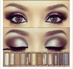 Wedding makeup created with Naked 2 Palette. You ... | wedding make …