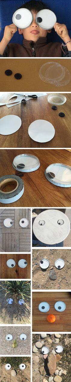 DIY Giant Googly Eyes! So much fun!