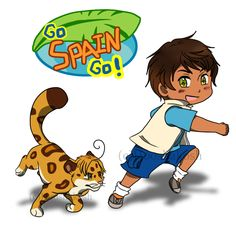 Go Spain Go! by Hooshakosh.deviantart.com on @DeviantArt  why is this even a thing?