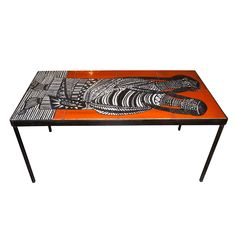 1stdibs | 1950s Coffee Table by Roger Capron