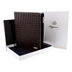 Чехол Elegance Плетение коричневое для iPad 2   3   4 купить в интернет-магазине BeautyApple.ru.