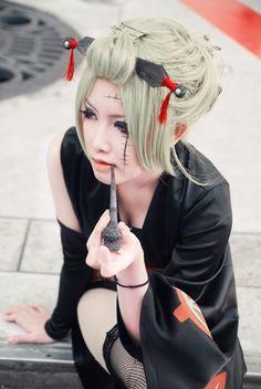 Gintama cosplay - Tsukuyo