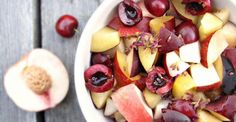 Recipe: Fruit Salad with Lemon-Lavender Syrup | Greatist