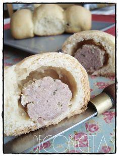DECORECETAS: Albóndigas en pan