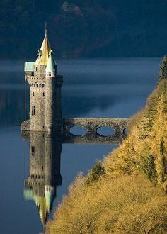 Lake Vyrnwy, County Powys, Wales