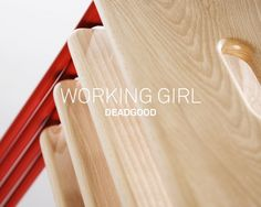 Working Girl Stool for Deadgood — David Irwin, Contemporary Product and Furniture Designer