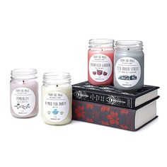 Look what I found at UncommonGoods: Literary Candles for $16.00 #uncommongoods
