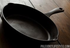 the iron skillet is a must in all southern #kitchens.