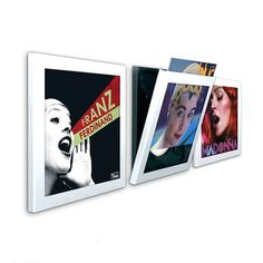 Play and Display vinyl record artwork