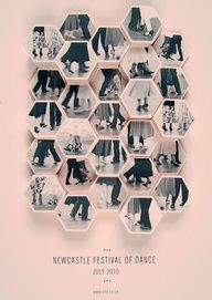 Newcastle Festival of Dance Poster Series