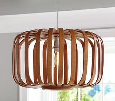 Wooden Cage Pendant | Pottery Barn Kids