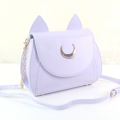 "Sailor moon cat moon bag Coupon code ""cutekawaii"" for 10% off"
