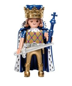 Playmobil Mystery Figure Series 7 5537 Gold King with sword scepter NEW Legoland, King Kong, Balinese, Cool Toys, Awesome Toys, Cool Cartoons, Legos, Cartoon Characters, Vintage Toys
