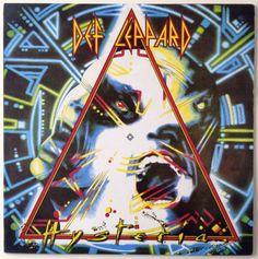 Def Leppard - Hysteria LP Vinyl Record Album, Mercury - 830675-1,  Hard Rock, 1987, Colombian Pressing