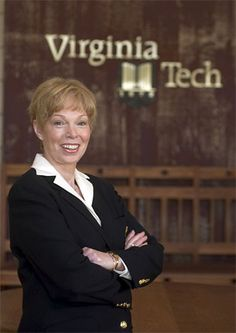 Female provost (1995): College of Human Resources Dean Peggy Meszaros was appointed senior vice president and provost, the highest administrative position ever held by a woman at Virginia Tech.
