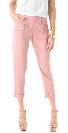 Alice + Olivia Arthur Pants. perfect for the office