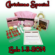 Christmas Special starts today and ends midnight on January 3rd, 2015.  Standard set now only $129.95 and free shipping!  Get yours today!