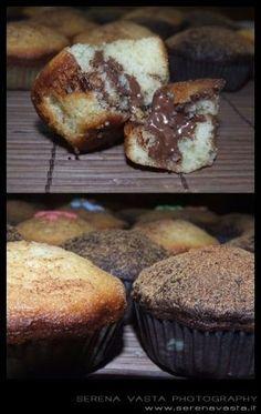 Ricette dolci: muffin alla nutella