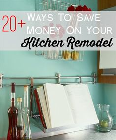 How to save money when remodeling a kitchen.